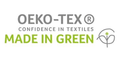 Crestyle | MADE IN GREEN by OEKO-TEX® | Logo schmal
